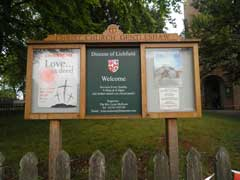 Christ Church Notice Board